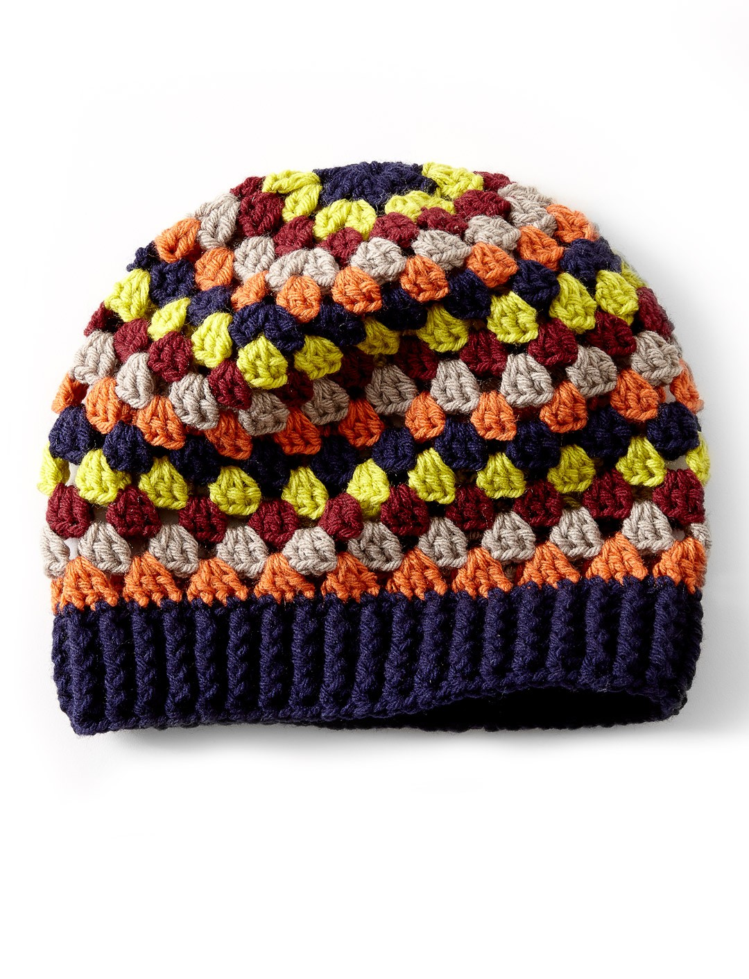 Granny Stripe Hat Granny Striped Crochet Hat ... 67286dc0146