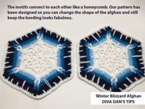 Crochet Winter Blizzard Afghan by Daniel Zondervan