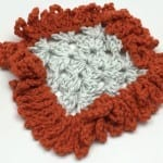 Big Loopy Granny Square Border Pattern