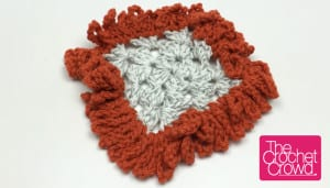 Big Loop Granny Square Border Pattern