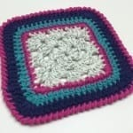 The Crabby Granny Square Border Pattern