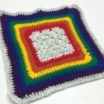 Bold Is Better Granny Square Border Pattern