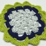 Petal Edge Granny Square Border Pattern