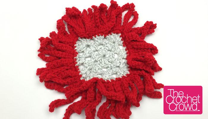 Crochet Frills Granny Border + Tutorial