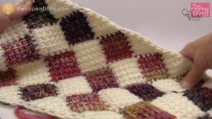 Crochet Entrelac Rectangle