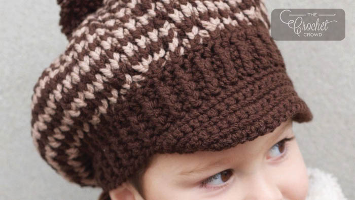 Crochet Child Visor Hat Pattern