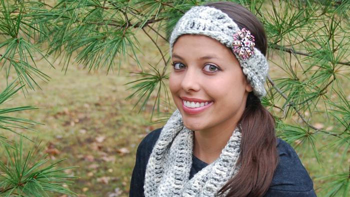 Crochet Infinity Headband II