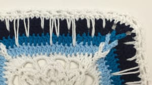 Crochet Icy Window Afghan Pattern