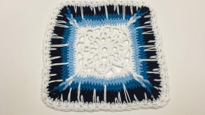 Crochet Icy Window Afghan Pattern