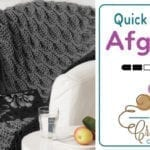 Crochet Quick & Easy Afghan + Tutorial