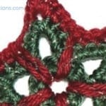 Crochet Christmas Star Ornament + Tutorial