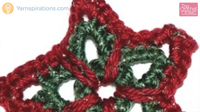 Crochet Christmas Star Ornament Pattern