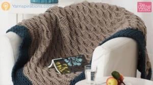 Neutral Texture Crochet Afghan Pattern