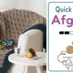 Crochet Neutral Afghan Pattern + Tutorial