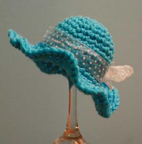 Sun Hat crocheted by Jeanne Steinhilber