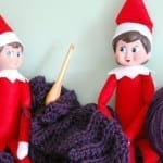Christmas Elf Fun with Yarn
