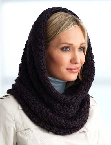 11 free patterns for hooded scarves cowls the crochet