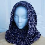 Crochet Hooded Cowl