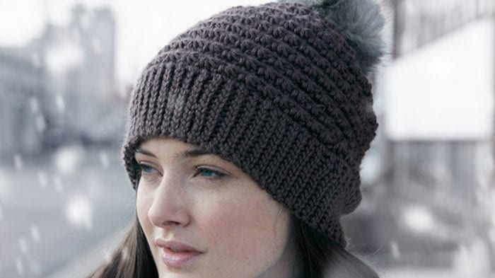 Crochet Star Stitch Hat Free Pattern : Crochet Wool Hat & Cowl + Tutorial - The Crochet Crowd