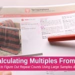 2 Ways to Figure Out Repeat Pattern Calculations for Crochet