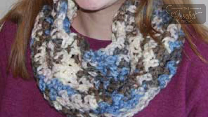 Crochet Piked Cowl
