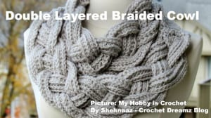 Double Layered Braided Cowl