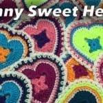 Crochet Granny Sweet Hearts