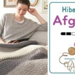 Crochet Hibernate Blanket + Tutorial