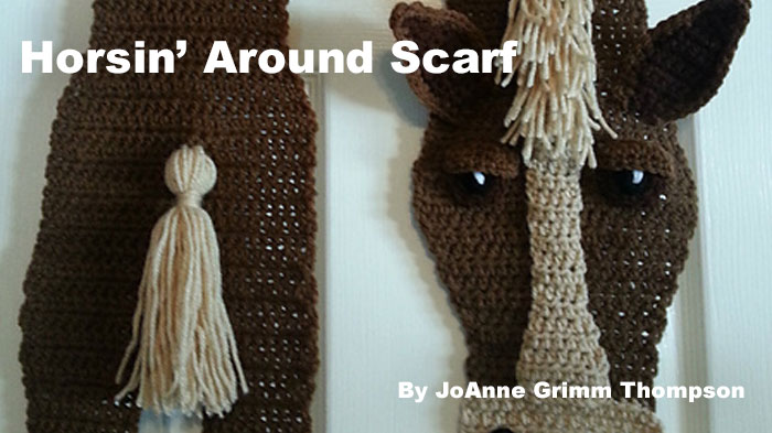 Horsin' Around Scarves by JoAnne Grimm Thompson