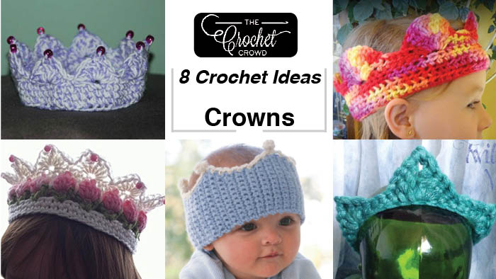 e971382200d 8 Crochet Crown Patterns