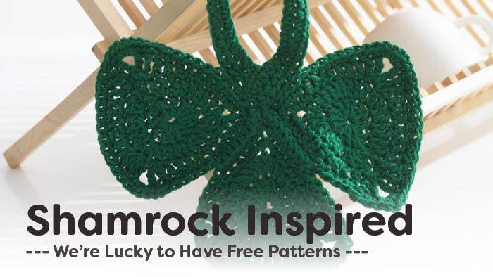 9 Crochet Shamrock Patterns