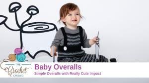 Crochet Baby Overalls