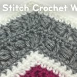 How to Crochet Bead Stitch Wave + Tutorial