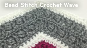 Bead Stitch Crochet Wave Pattern