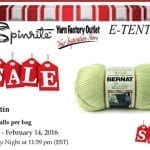 Luxury Worsted Yarn Bag of 6 for $5 Bucks!