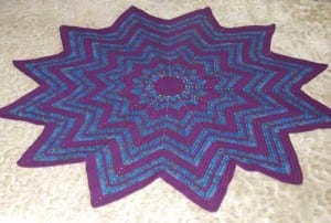 Charity Crochet Spectrum Afghan