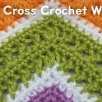 How to Crochet a Criss Cross Wave Afghan + Tutorial