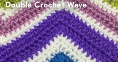 Double Crochet Wave Pattern