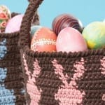 21 Crocheted Easter Basket Patterns