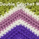 How to Half Double Crochet A Wave Afghan + Tutorial