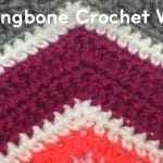 How to Crochet Herringbone Stitch Wave + Tutorial