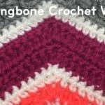 Herringbone Crochet Wave Pattern