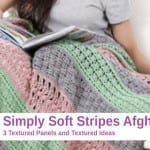Crochet Simply Soft Stripes Afghan