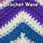 How to Single Crochet A Wave Afghan + Tutorial