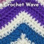 Single Crochet Wave Pattern