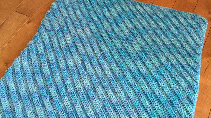 Crochet C2C Double Crochet Afghan Pattern