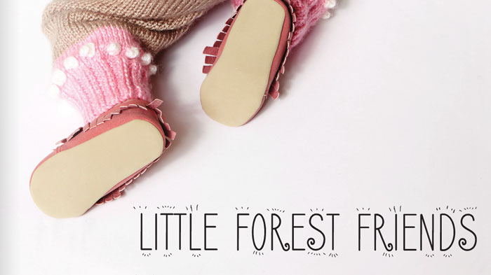 Little Forest Friends eBook: Forest Friends LookBook by Yarnspirations