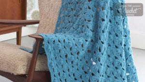 Patons Light & Airy Crochet Afghan