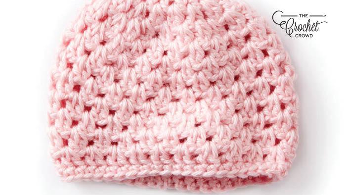Crochet Baby's Hat + Tutorial