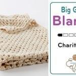 Crochet Big Granny Square Blanket Pattern